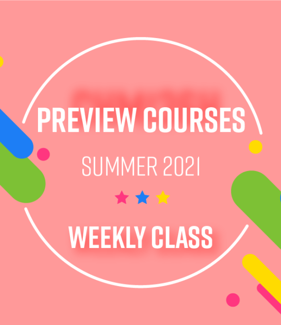 Preview Courses Summer 2021